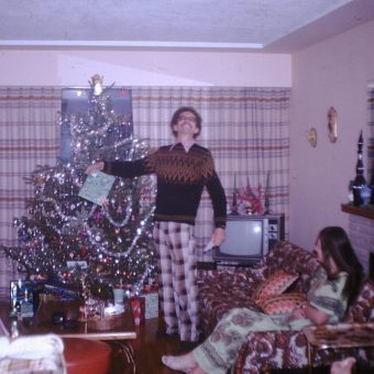 Found Photos of A Mid-Century Family Christmas