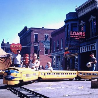 The Dixon Illinois Street Festival of 1959