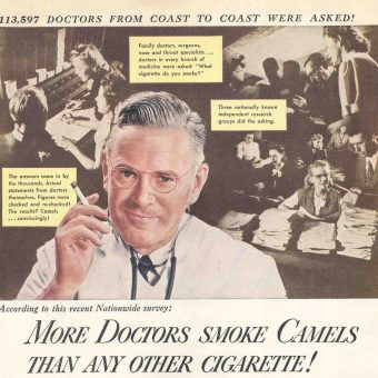 When Tobacco Companies Used Doctors to Sell Cigarettes