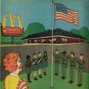 Ronald McDonald Adventures in Scouting : A Troubling 1970s Magazine