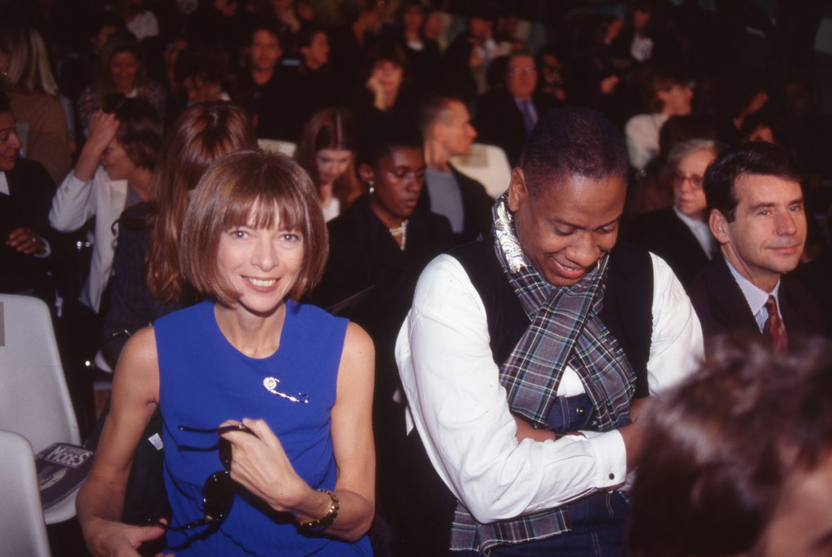 Anna Wintour, André Leon Talley and Patrick McCarthy, Paris, 1993 harry benson
