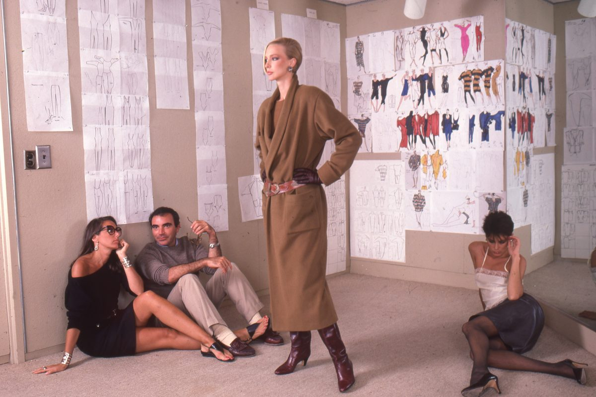 Harry Benson Donna Karan, Louis Dell'Olio and Karen Bjornson for Anne Klein, New York, 1982