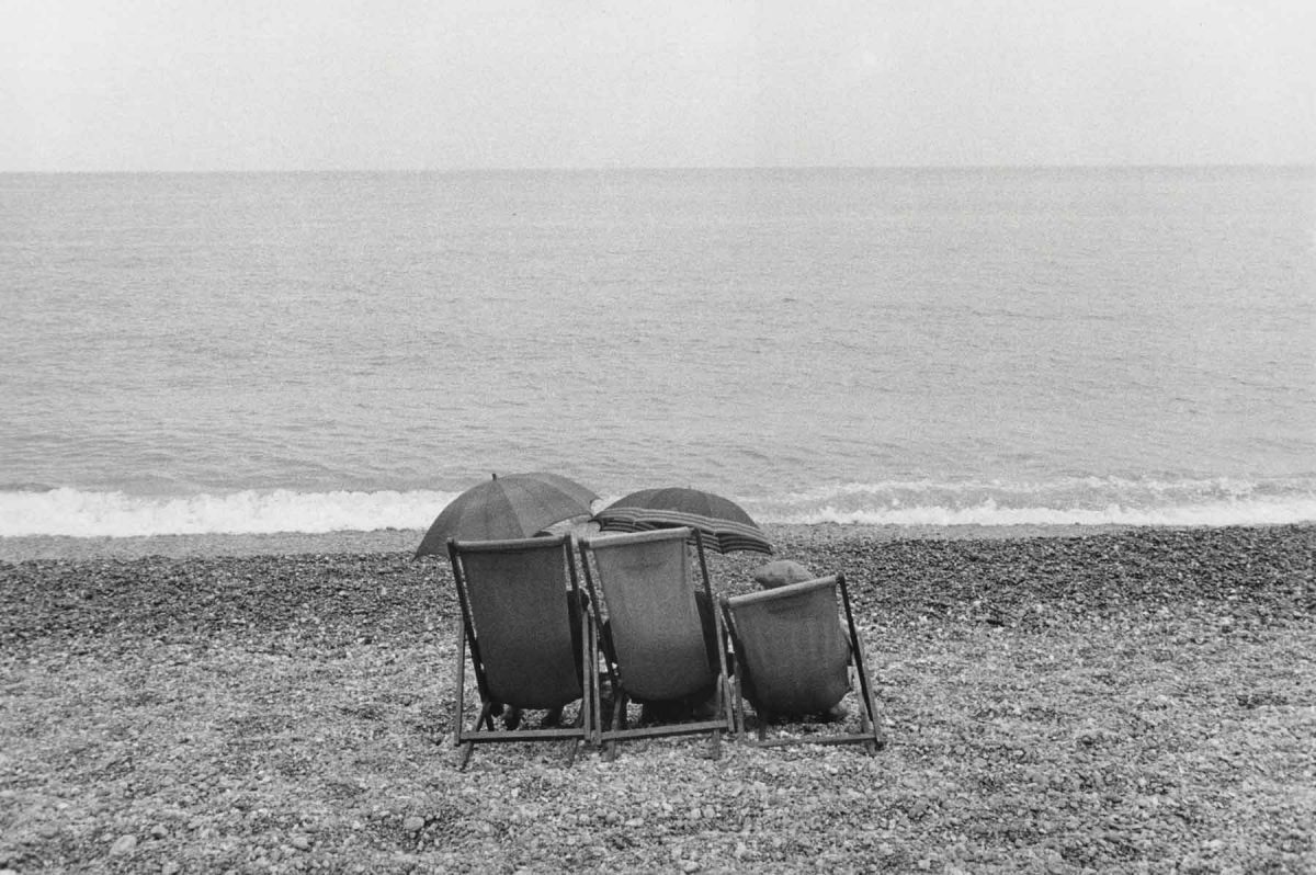 Couple on Beach, England, 1960 Bruce Davidson