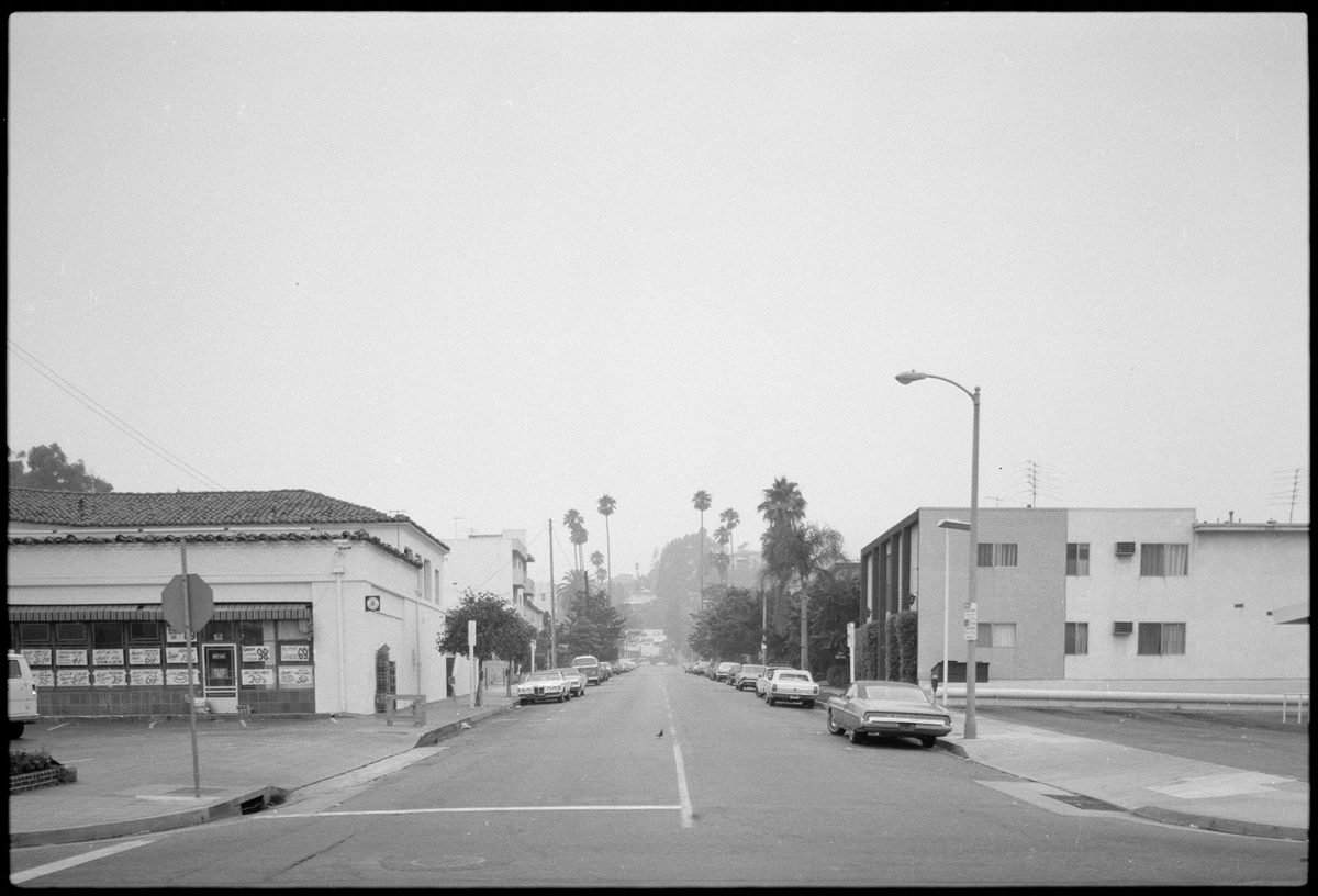 View of Sunset Boulevard