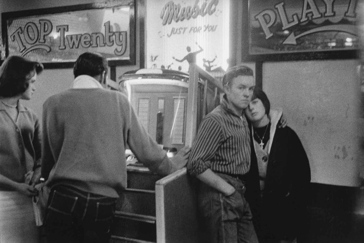 Teenagers and Jukebox, Hastings, England, 1960 Bruce Davidson