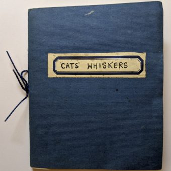 A Girl's Handmade Record of Her Cats' Whiskers From 1941