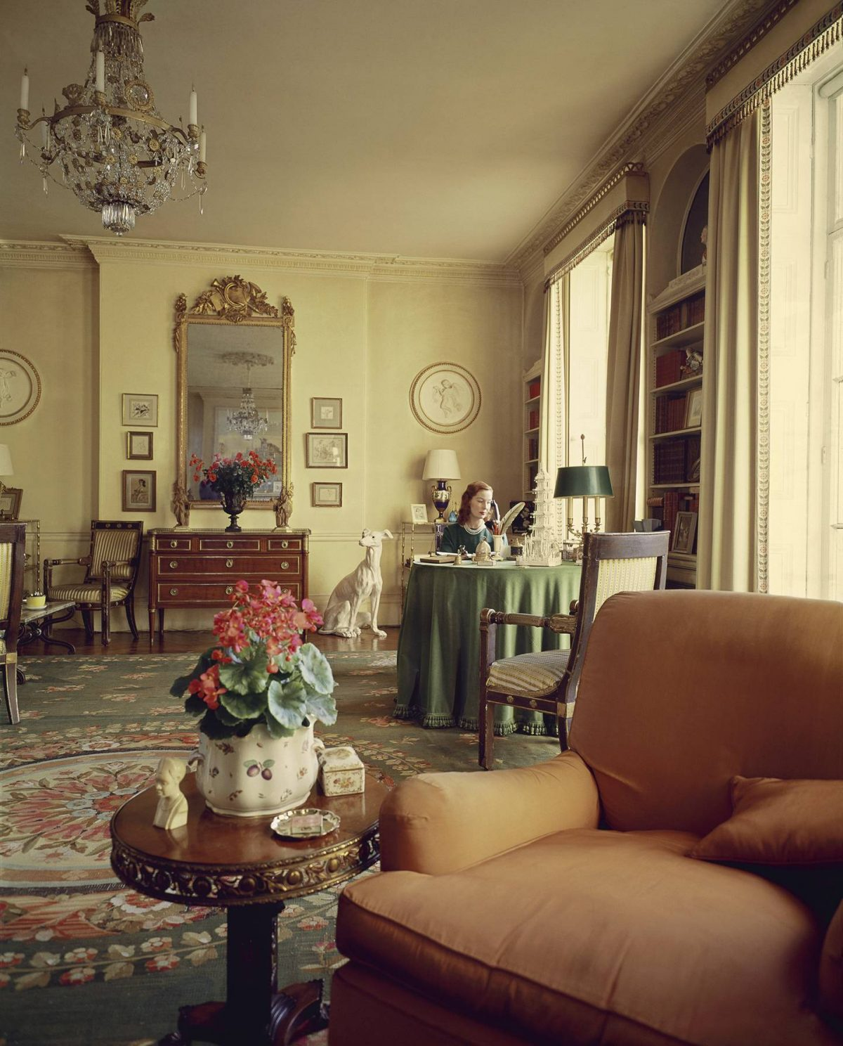 The interior of the Profumo's house