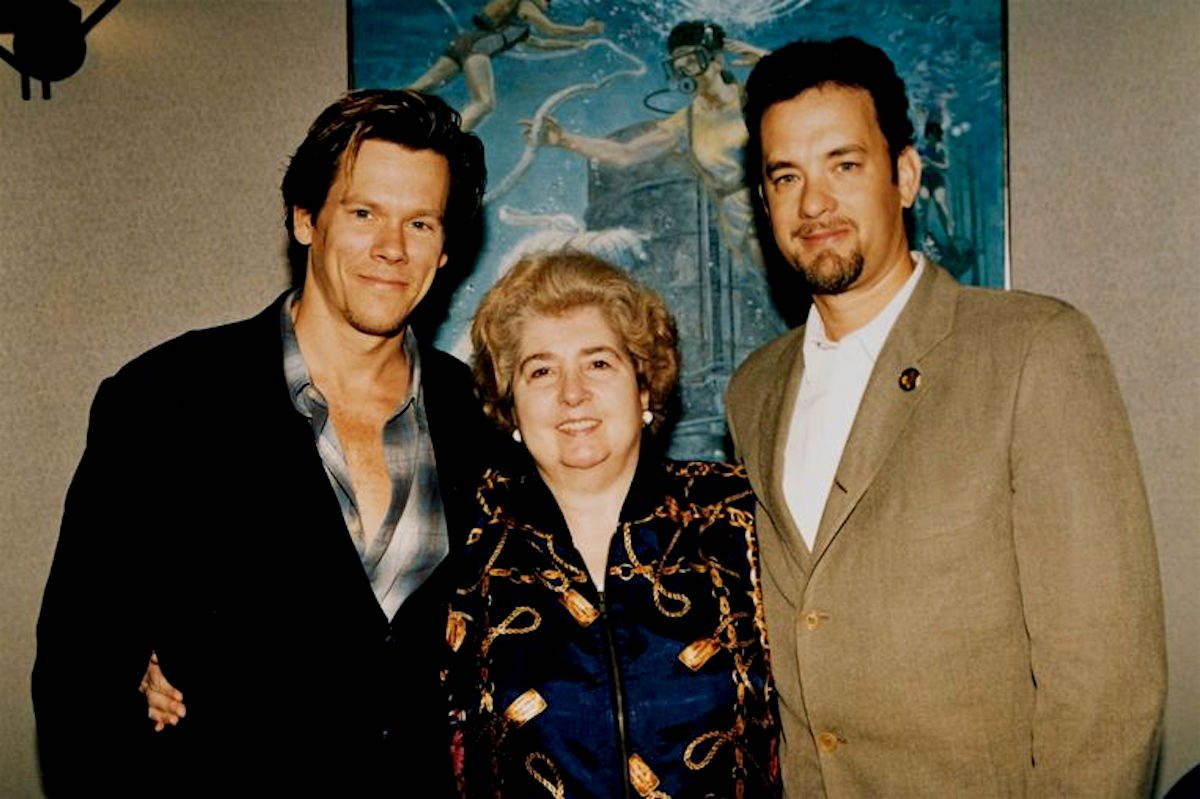Kevin Bacon, Maria Snoeys-Lagler, Tom Hanks, Hollywood