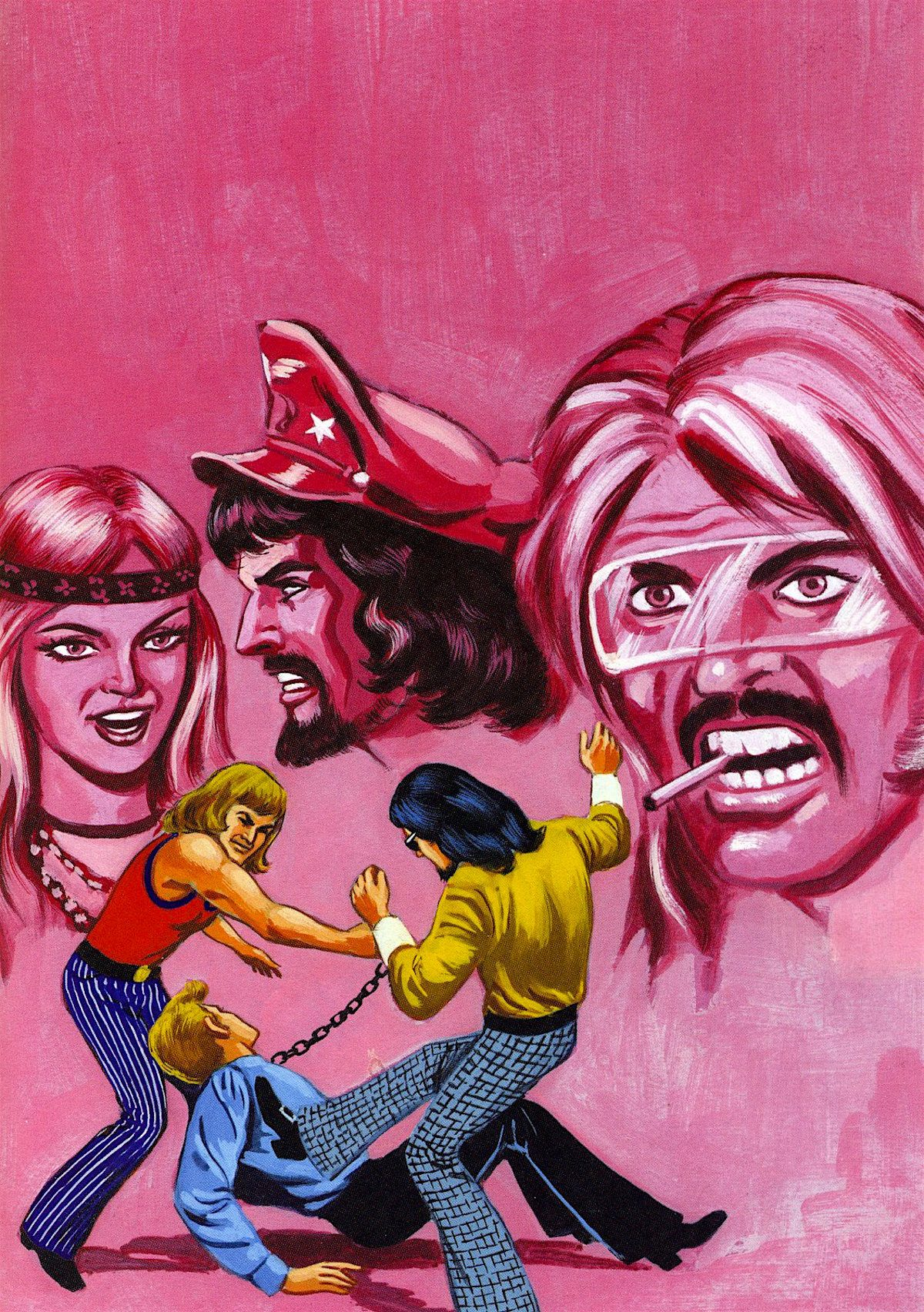 Mexican, pulp art, comics
