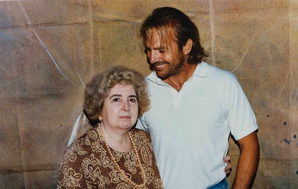 Kevin Costner, Maria Snoeys-Lagler, Hollywood