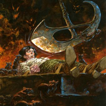 Paintings of Mystery and Imagination: Bernie Wrightson's artwork for the tales of Edgar Allan Poe