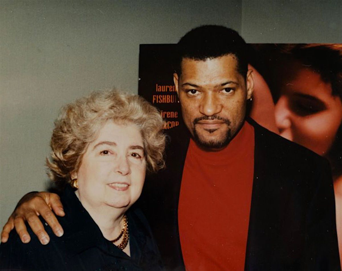 Laurence Fishburne, Maria Snoeys-Lagler, Hollywood