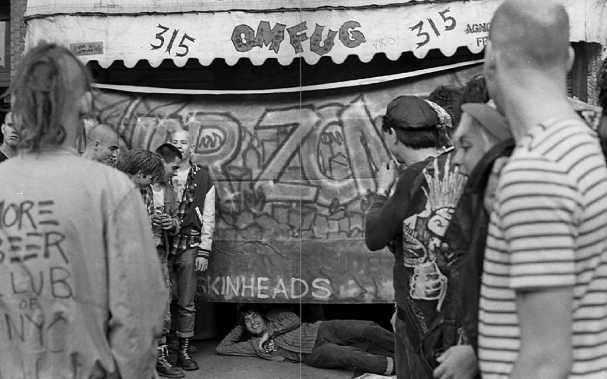 Lower East Side New York punks in the 1980s by Karen O'Sullivan