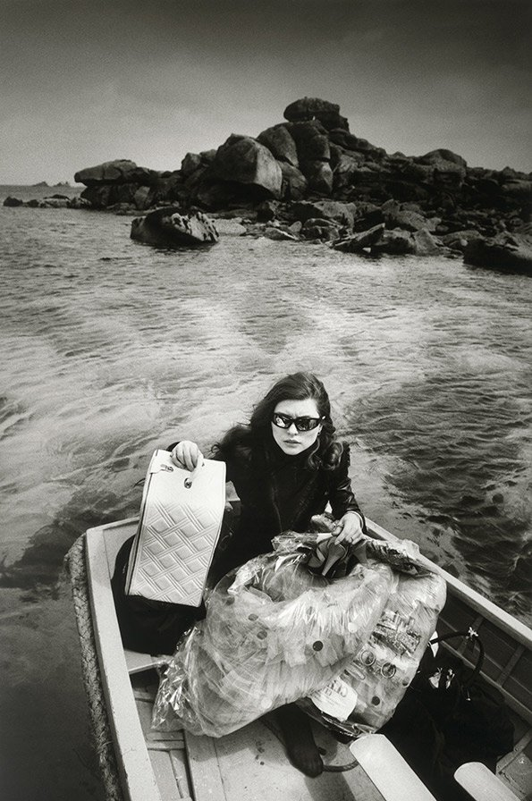 "Debbie Harry, Travelling to the Scilly Isles to film the video of ""Island of Lost Souls"", 1982"