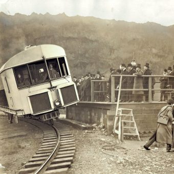 One of the First True Monorail Systems Debuts in 1910, Wins High Praise from Winston Churchill, Then Fails