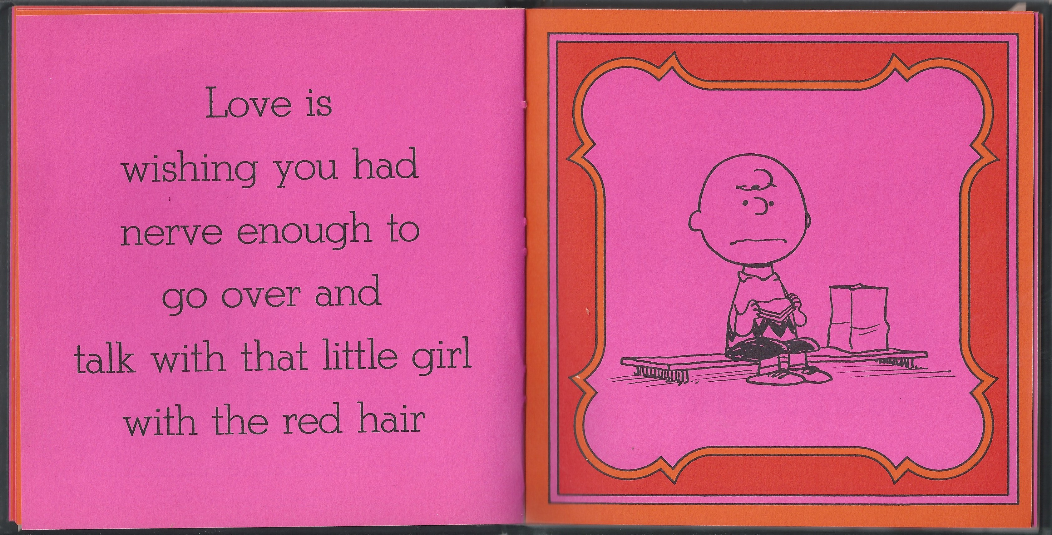 Love Is Peanuts Charlie Brown Snoopy Lucy by Charles M. Schulz