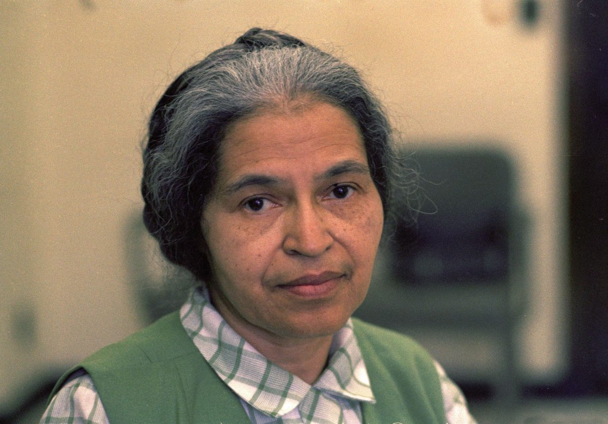 Parks Rosa Parks is seen in Detroit in May 1971 1 May 1971