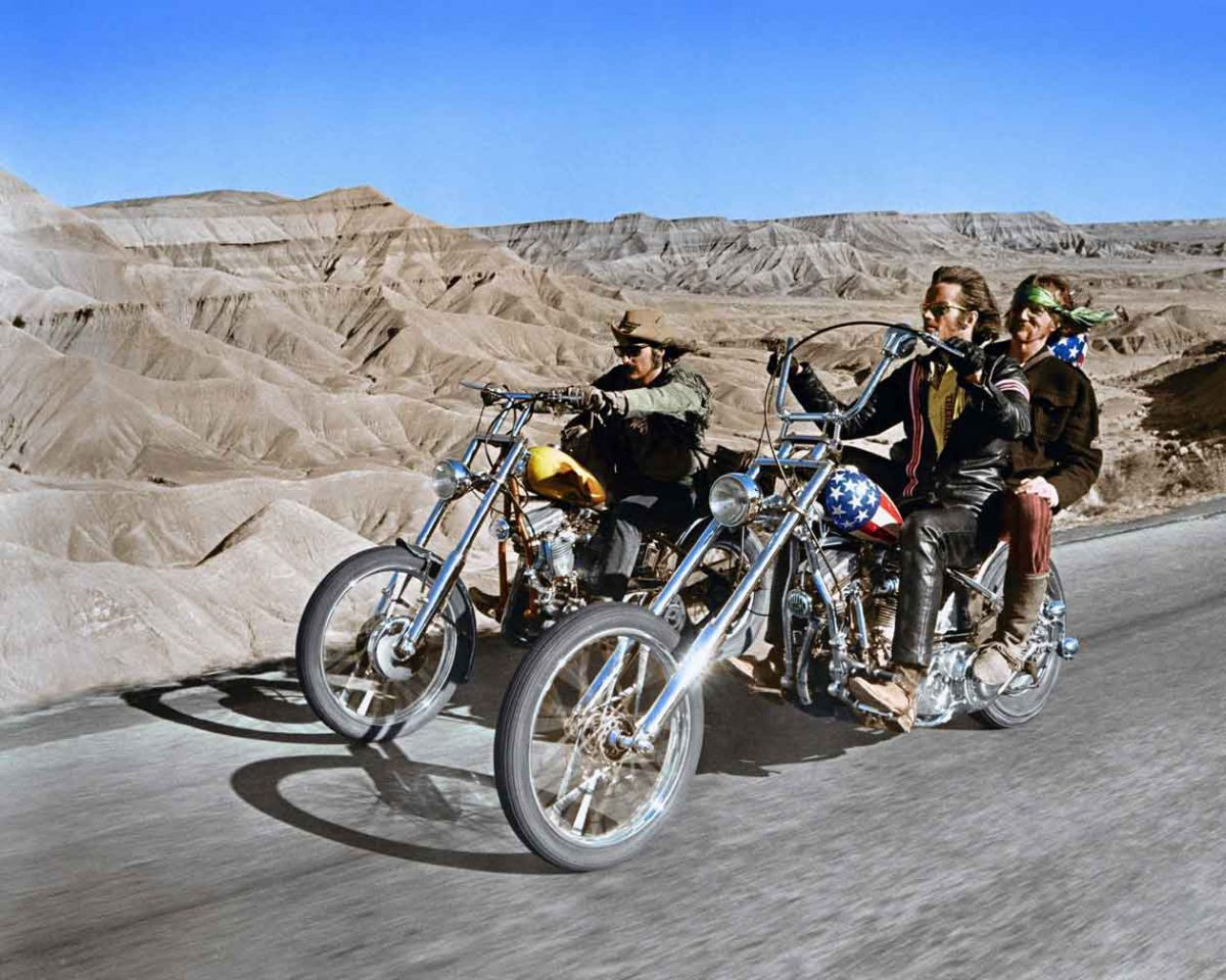 Still shot from Easy Rider