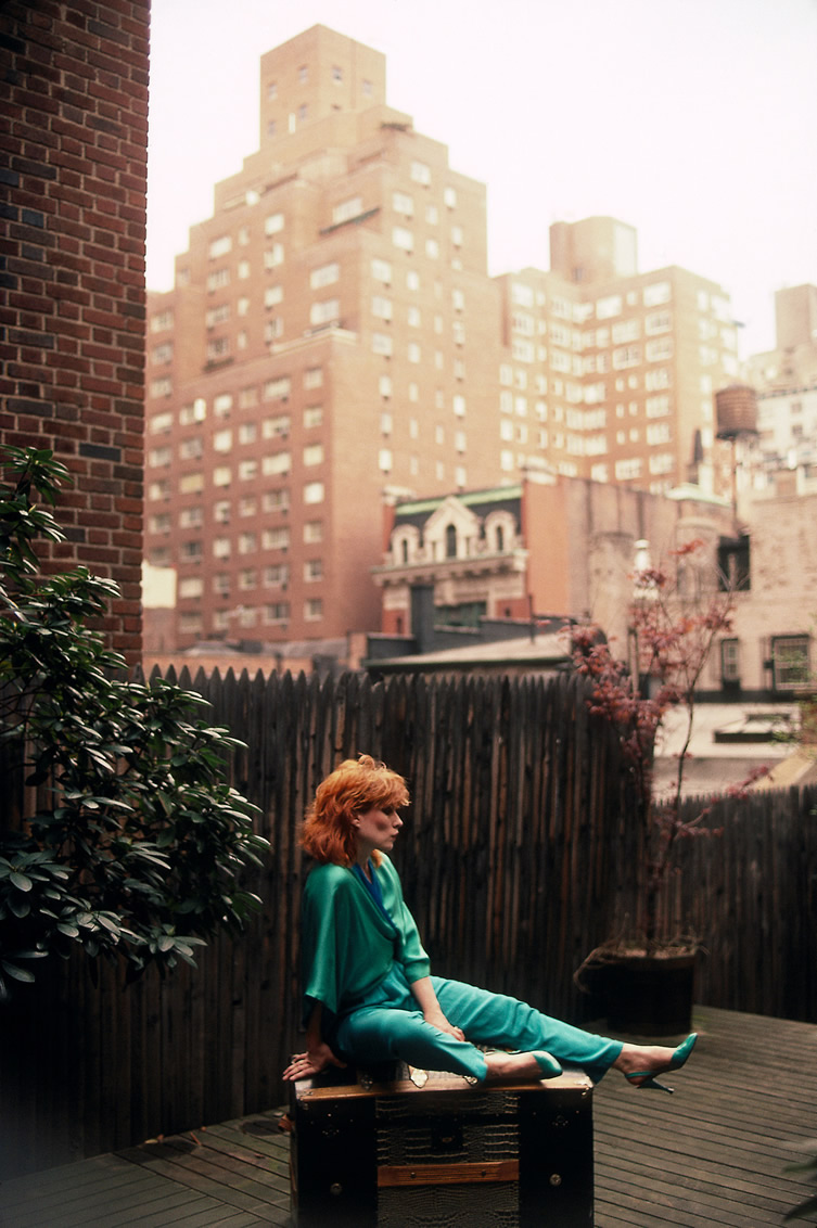 Debbie Harry, New York Apartment, New York Apartment, Back Yard, 1983