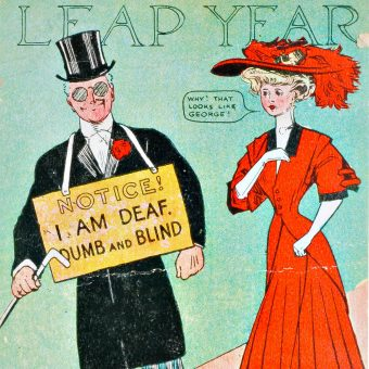 A Glorious Selection of Vintage Leap Year Cards