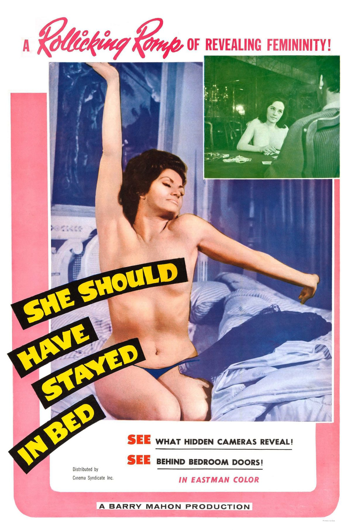 she should have stayed in bed 1963 sexploitation
