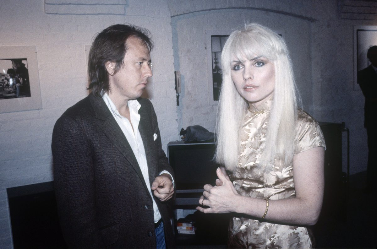 Blondie - Deborah Harry with Brian Aris Blondie, London Britain - May 1982