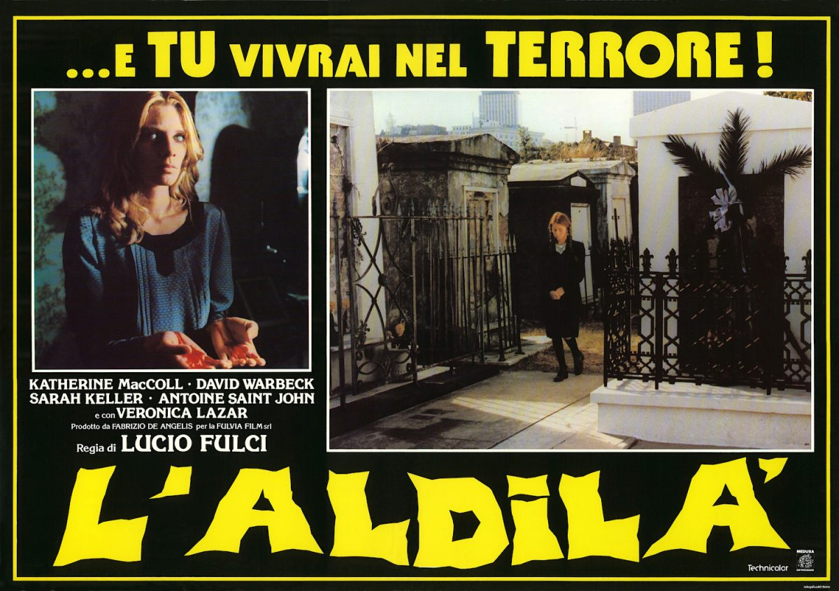 Lucio Fulci, The Beyond, horror