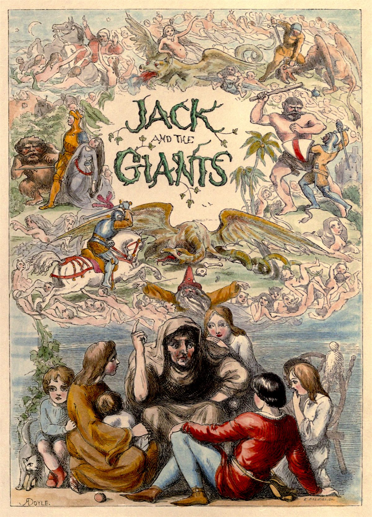 Richard Doyle, Jack, giants, art