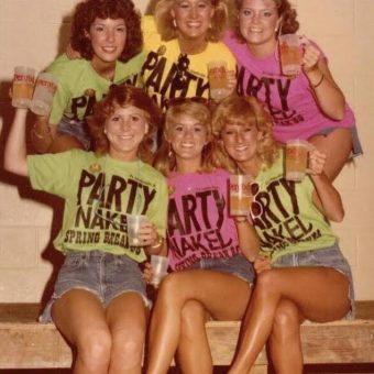 A Snapshot Explosion of Big Hair and Boozing In the 1980s