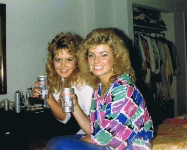 1980s snapshots big hair and booze