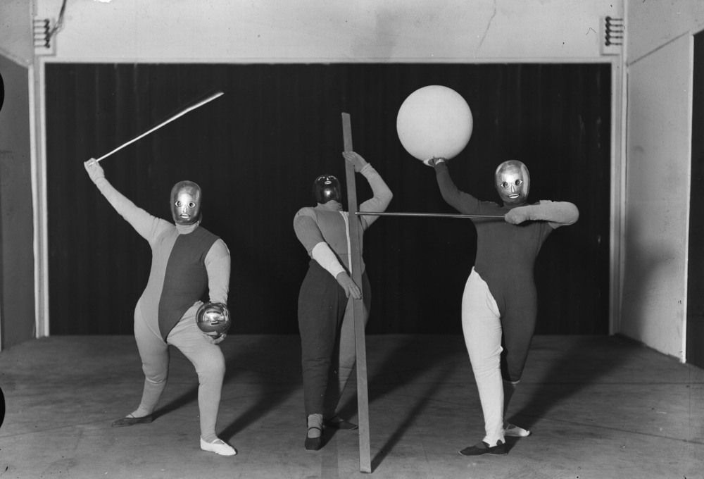 Bauhaus play, produced by Oskar Schlemmer