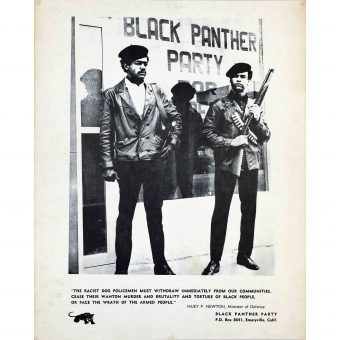 Extraordinary Pictures, Posters and Flyers of the Black Panther Party, 1967-1972