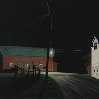 Seeing America In Isolation by George Ault (1940s)