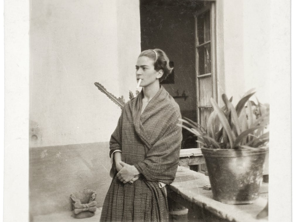 Frida Kahlo in the Casa Azul, anonymous photographer, 1930