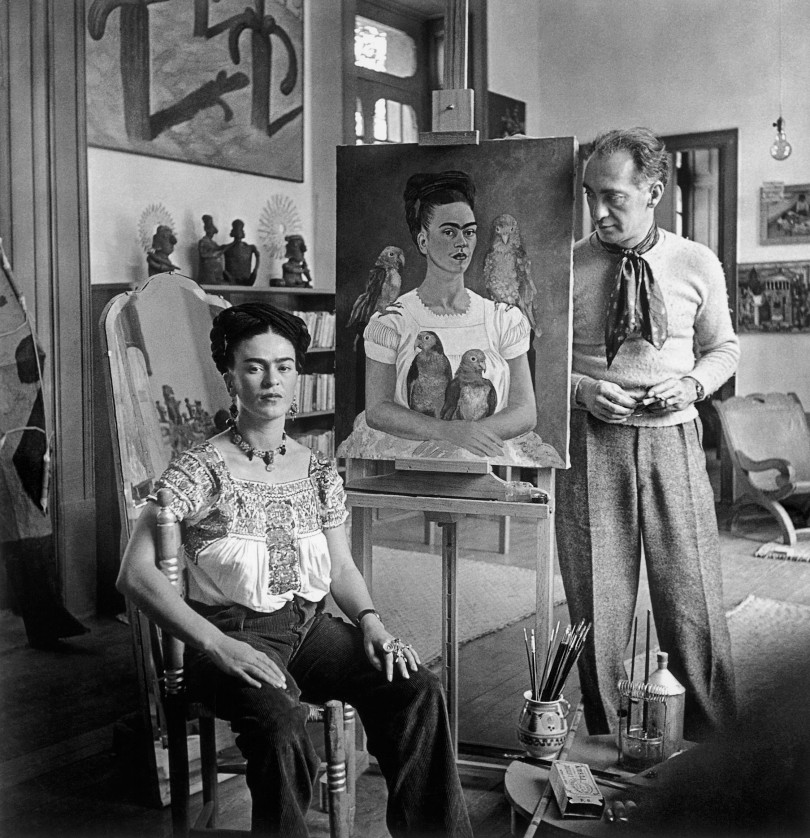 Frida Kahlo and photographer Nickolas Muray