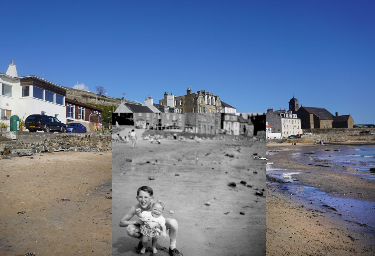 Jim Downie, Kinghorn, photography, seaside