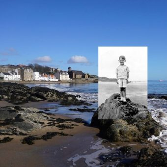 Landscape and Memory: Vintage holiday snaps placed in their original settings
