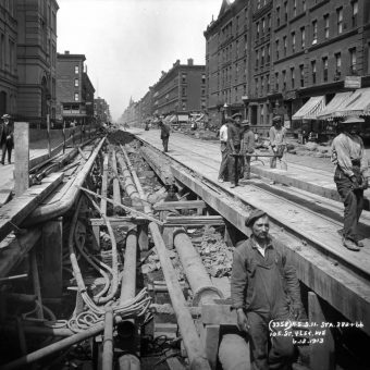 Two Brothers Photographed Every Stage of the New York City Subway Construction, from 1900-1939