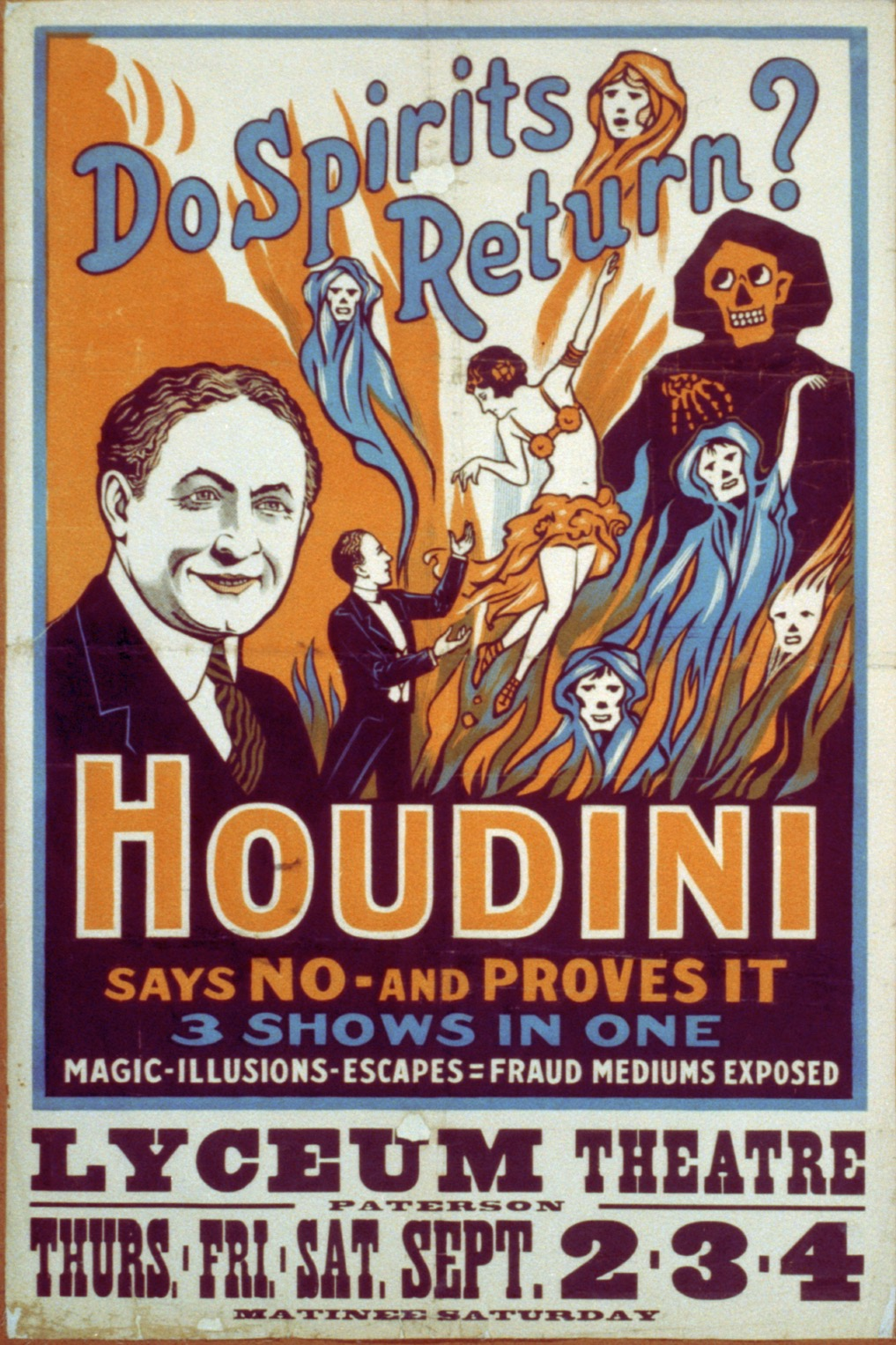 harry houdini seance