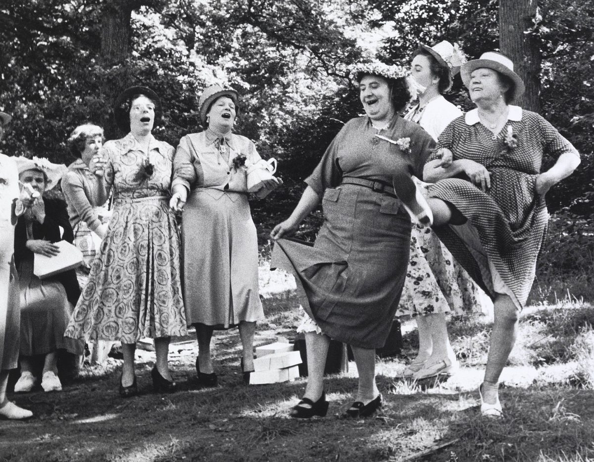 Women from clapham London in Margate 1950s