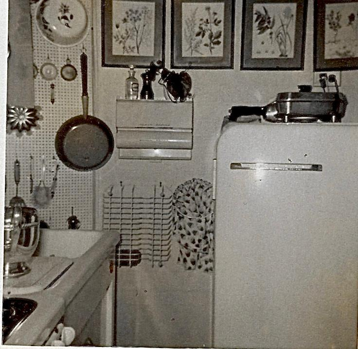 New York City apartment 1950s