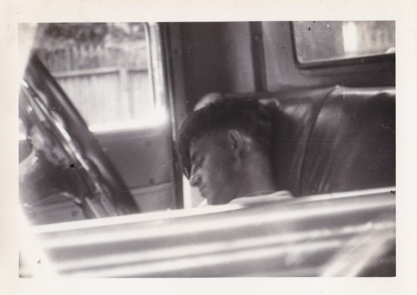 snapshots of people sleeping