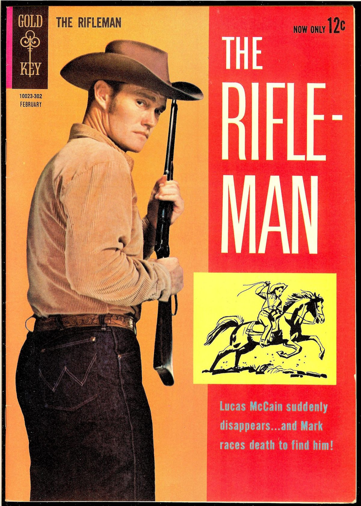 Chuck Connors, The Rifleman,