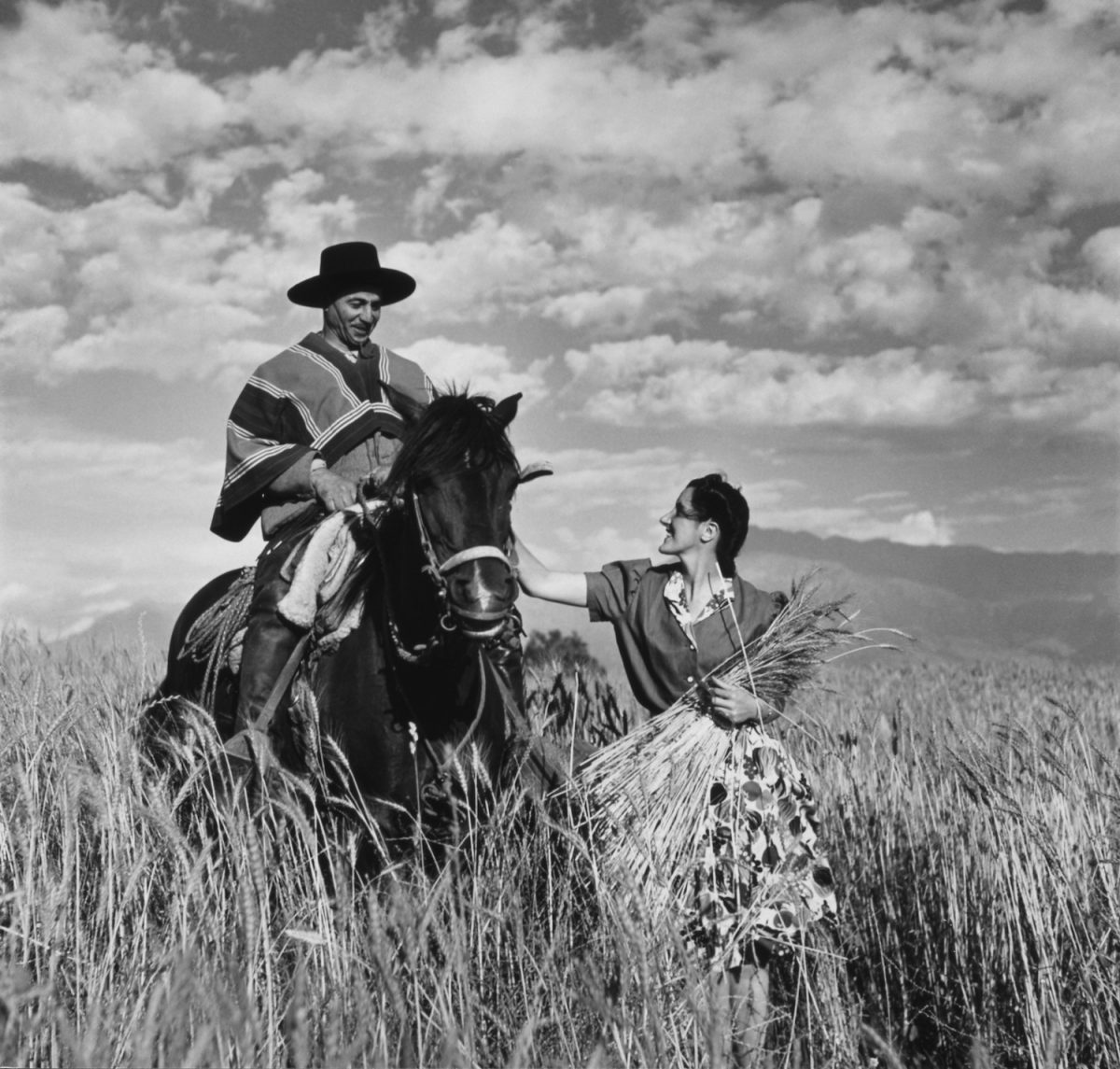 Toni Frissell, gaucho, chile