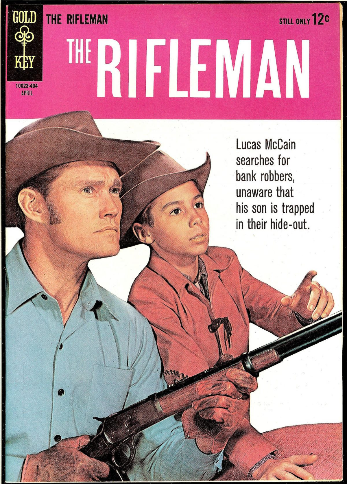 Chuck Connors, Johnny Crawford, The Rifleman