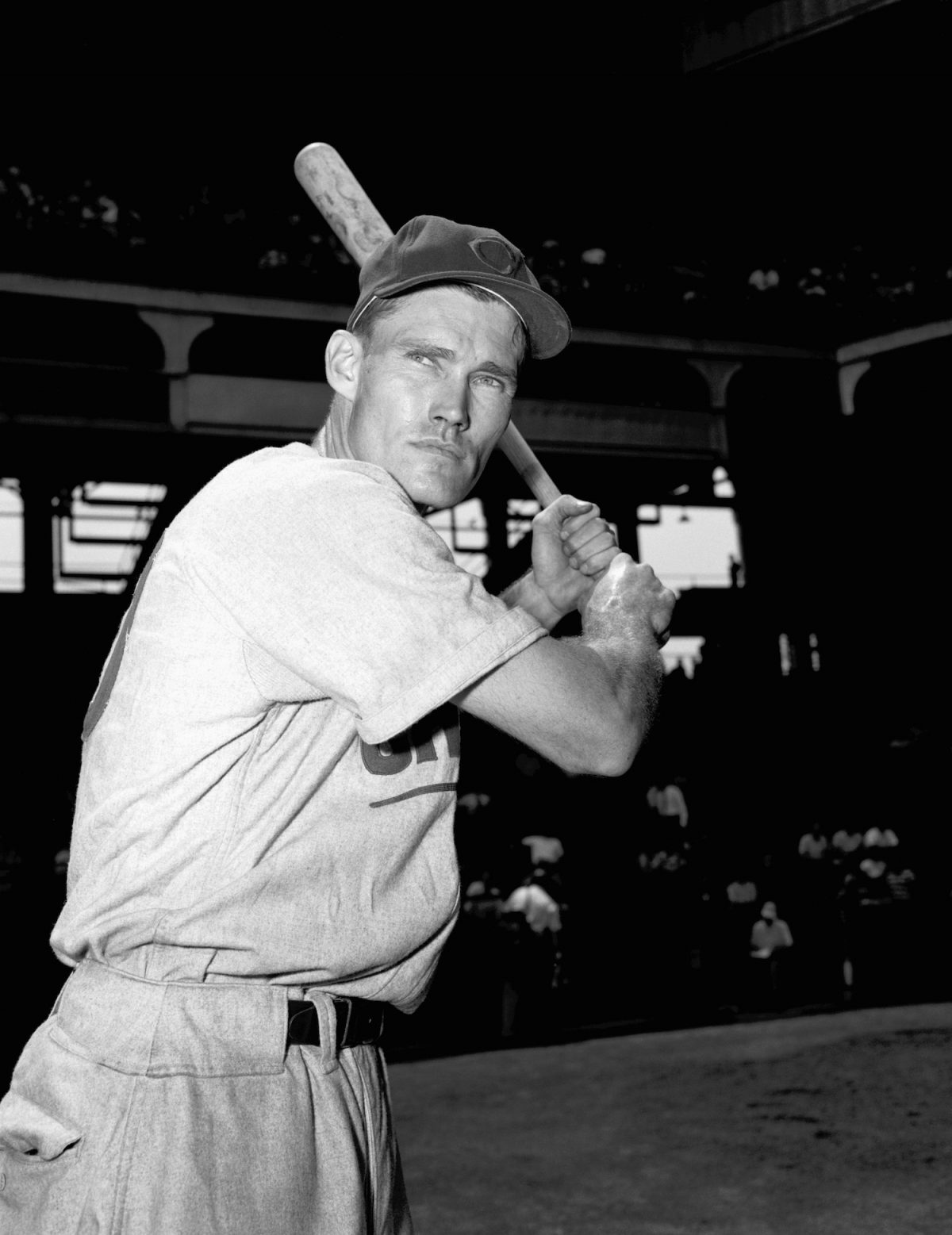Chuck Connors, baseball