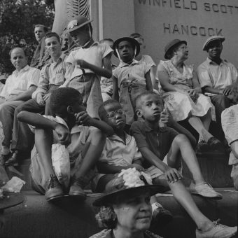Watching them Watching the Parade To Recruit Civilian Defense Volunteers – Washington DC, 1943