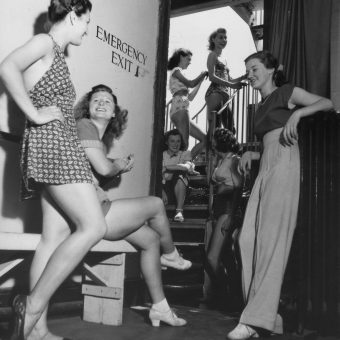 """It's alright to be nude, but if it moves, it's rude."" – The Extraordinary History of the Windmill Theatre"