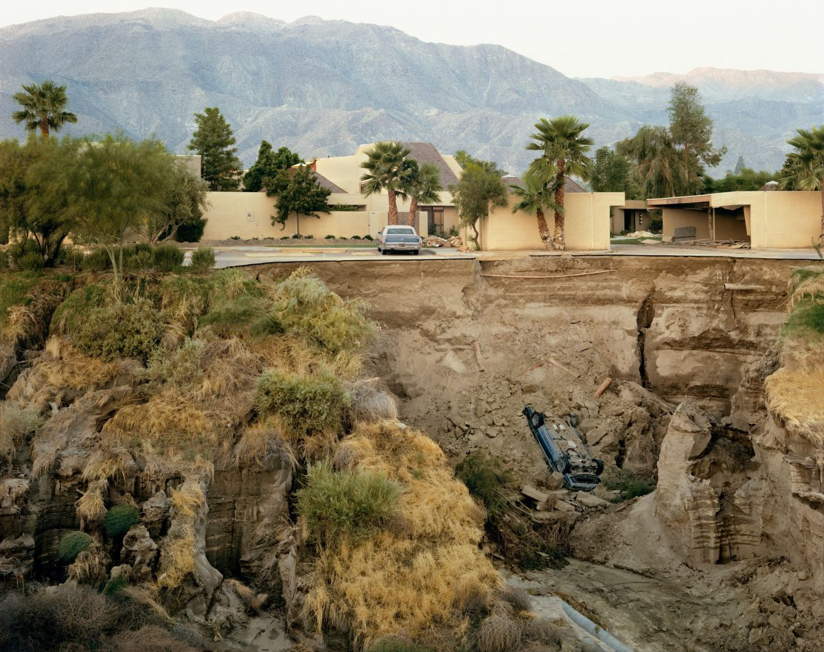 After A Flash Flood, Rancho Mirage, California 1979