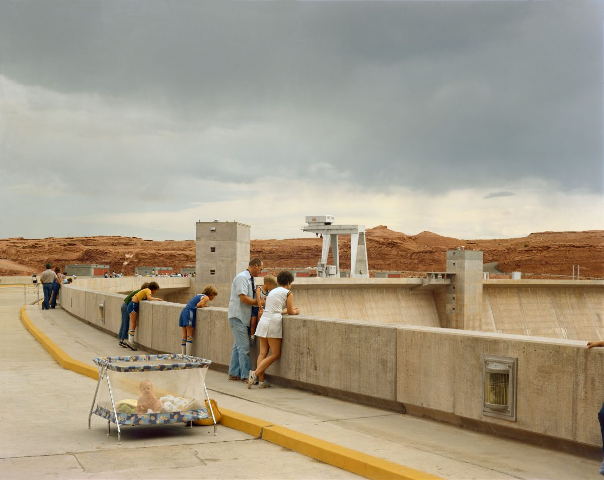 Glen Canyon Dam, Page, Arizona, 1983